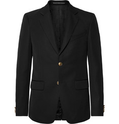 Givenchy Black Slim-Fit Twill Blazer