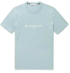 Givenchy - Logo-Print Cotton-Jersey T-Shirt