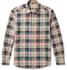 Barena Checked Flannel Shirt