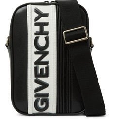 Givenchy Logo-Appliquéd Leather Messenger Bag