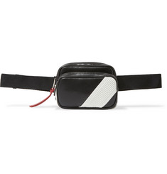 Givenchy - Logo-Appliquéd Leather Belt Bag