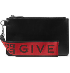 Givenchy - Coated-Canvas Pouch