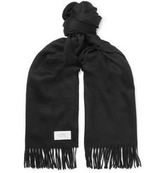 Givenchy Fringed Wool and Cashmere-Blend Scarf