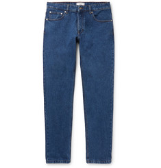 AMI Slim-Fit Washed Denim Jeans