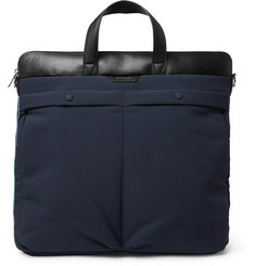 Paul Smith - Leather-Trimmed Canvas Tote Bag