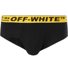 Off-White - Stretch-Cotton Briefs