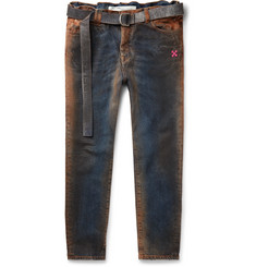 Off-White - Oil-Washed Denim Jeans