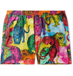 Valentino Short-Length Printed Swim Shorts
