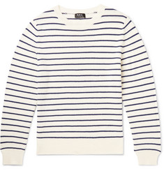 A.P.C. Slim-Fit Striped Wool Sweater