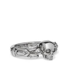 Skull Silver-tone Ring - Silver