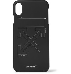 Off-White - Logo-Print iPhone XS Max Case