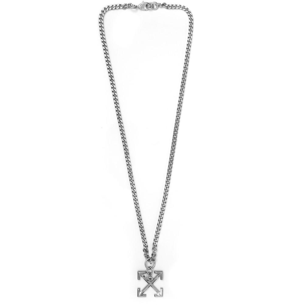 Silver-tone Necklace - Silver