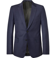 Paul Smith - Navy Soho Slim-Fit Puppytooth Wool Suit Jacket