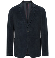 Paul Smith - Navy Slim-Fit Cotton and Cashmere-Blend Corduroy Suit Jacket