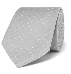 Paul Smith - 6cm Pin-Dot Silk-Faille Tie