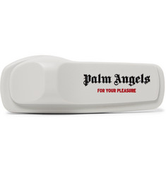 Palm Angels Anti-Theft Logo-Print Pin