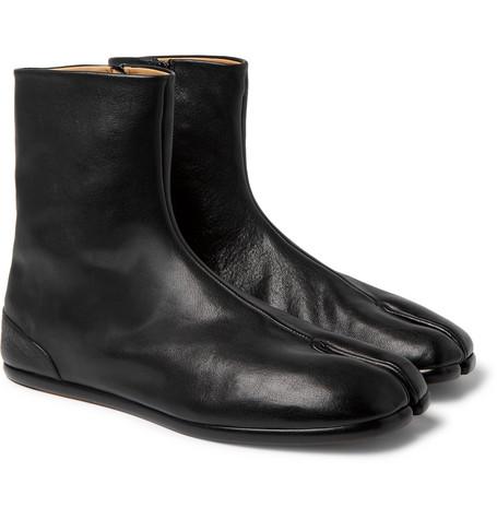 Maison Margiela Maison Martin Margiel Tabi Boots In Black