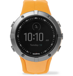 Suunto - Spartan Sport GPS Stainless Steel and Silicone Watch