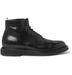 Officine Creative Stanford Burnished-Leather Boots