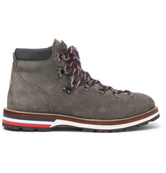 Moncler Peak Suede Hiking Boots