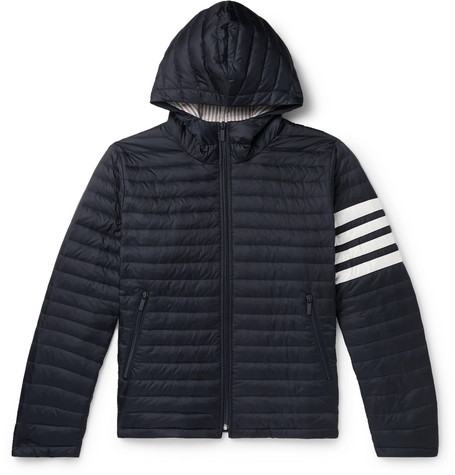 f1e8e69757 Thom Browne - Striped Quilted Shell Down Jacket
