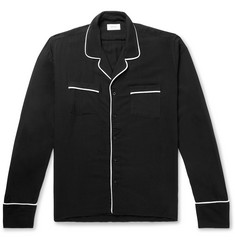 Rhude Embroidered Piped Woven Shirt
