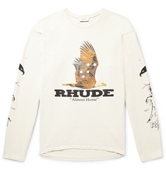 Rhude - Printed Cotton-Jersey T-Shirt