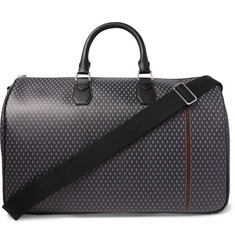 Dunhill - Leather-Trimmed Printed Coated-Canvas Holdall