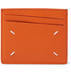 Maison Margiela Full-Grain and Smooth Leather Cardholder