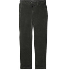 Canali - Cotton-Blend Corduroy Trousers