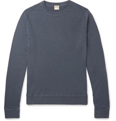 Garment-dyed Cashmere Sweater - Navy
