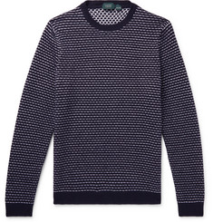 Incotex Striped Virgin Wool Sweater