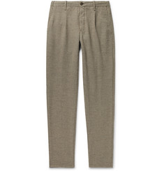 Incotex Slim-Fit Puppytooth Virgin Wool-Blend Trousers