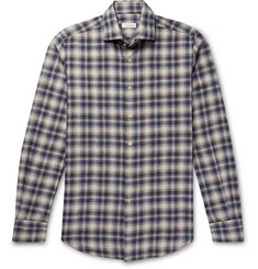 Incotex Checked Cotton Shirt