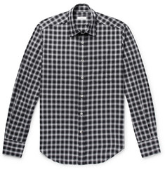 Incotex Slim-Fit Checked Cotton Shirt