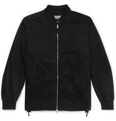 Aspesi Cotton-Twill Bomber Jacket