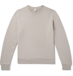 Aspesi Garment-Dyed Loopback Cotton-Jersey Sweatshirt