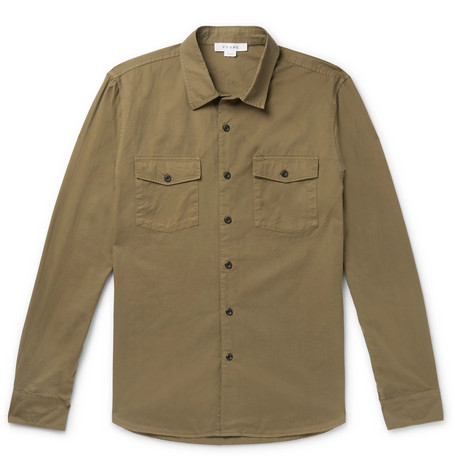 Cotton Twill Shirt by Frame