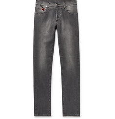 Isaia Slim-Fit Stretch-Denim Jeans