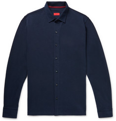 Isaia - Cotton-Piqué Shirt