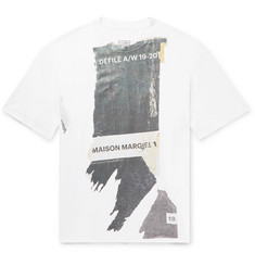 Maison Margiela Oversized Printed Cotton-Jersey T-Shirt