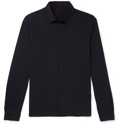 Caruso Wool Polo Shirt