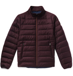 Loro Piana - Gateway Quilted Rain System Wool and Silk-Blend Down Jacket