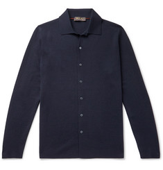 Loro Piana Empire Slim-Fit Wish Virgin Wool Shirt