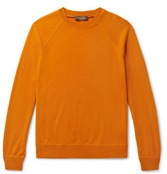 Loro Piana Fleece Silverstone Cashmere Sweater