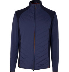 Loro Piana Slim-Fit Wool-Panelled Quilted Nylon Jacket