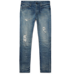 John Elliott - The Cast 2 Slim-Fit Distressed Denim Jeans