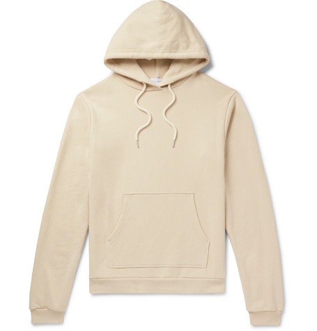 Beach Loopback Cotton Jersey Hoodie by John Elliott