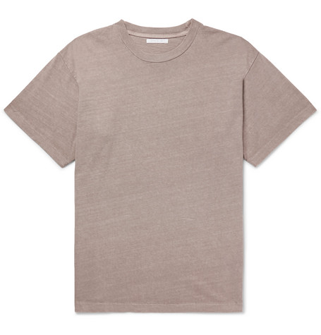University Oversized Slub Cotton Jersey T Shirt by John Elliott