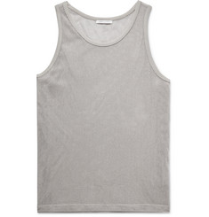 John Elliott Slim-Fit Cotton-Mesh Tank Top